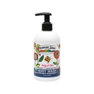 Baby & Kids Simply Unscented Organic Body Wash