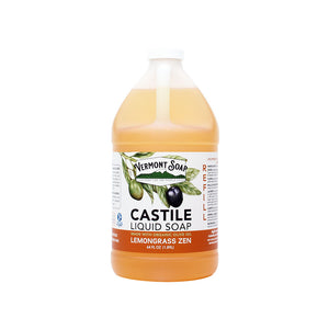 Lemongrass Zen Castile Liquid Soap