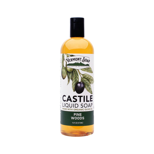 Pine Woods Castile Liquid Soap