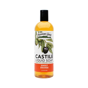 Sweet Orange Castile Liquid Soap