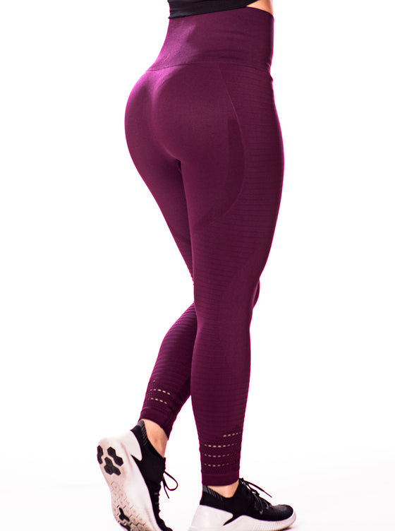 High-Waisted Seamless Workout Leggings
