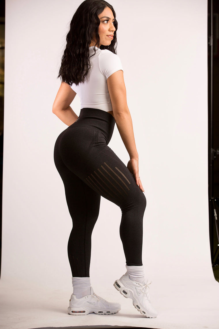High Waist Seamless Workout Leggings