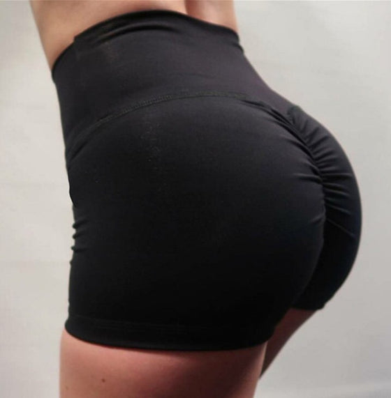 High-Waisted Performance Shorts