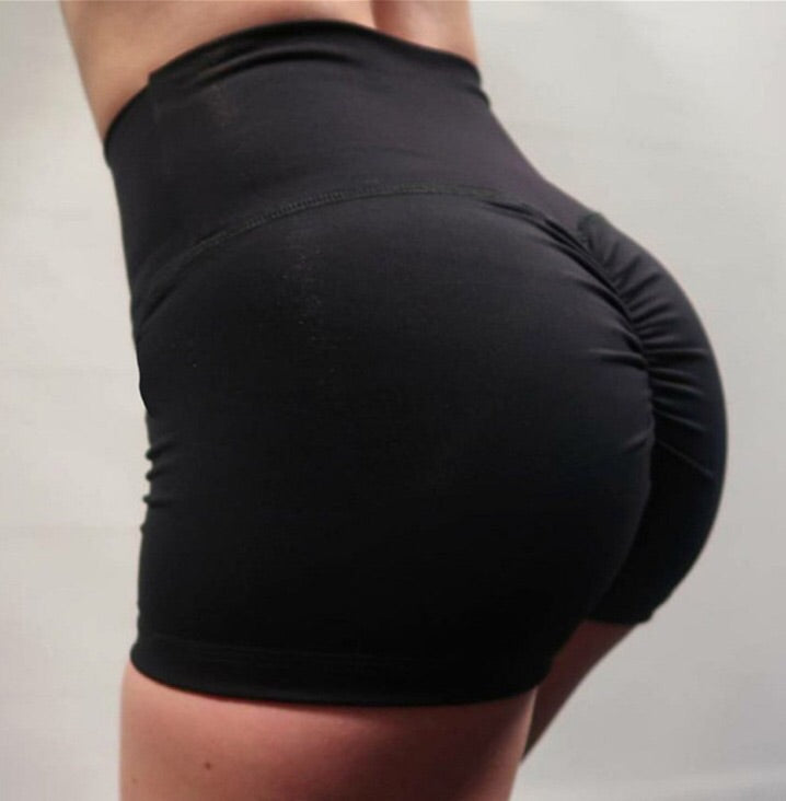High Waisted Performance Shorts