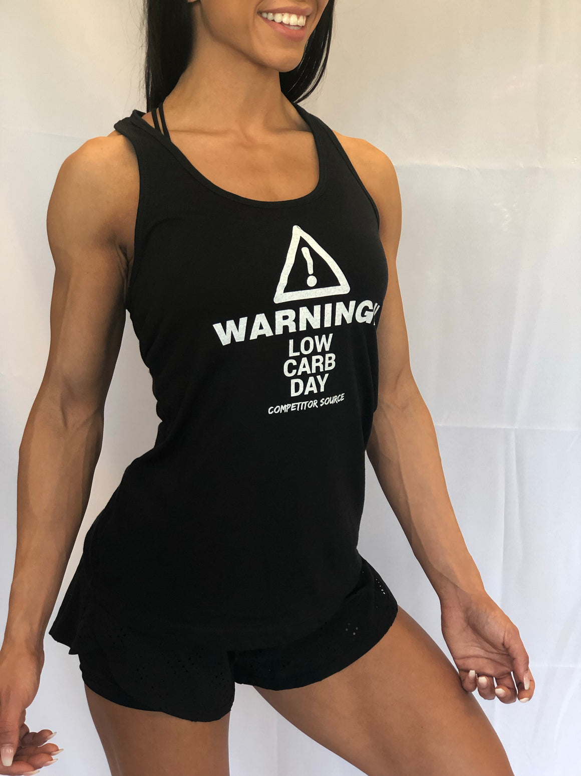 Low Carb Day - Racerback Tank Top