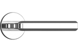OVIKU Lockable Door Handle - Chrome