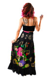 Señorita Silk Skirt - Vintage Shop - Hunt and Gather San Diego - Festival Fashion