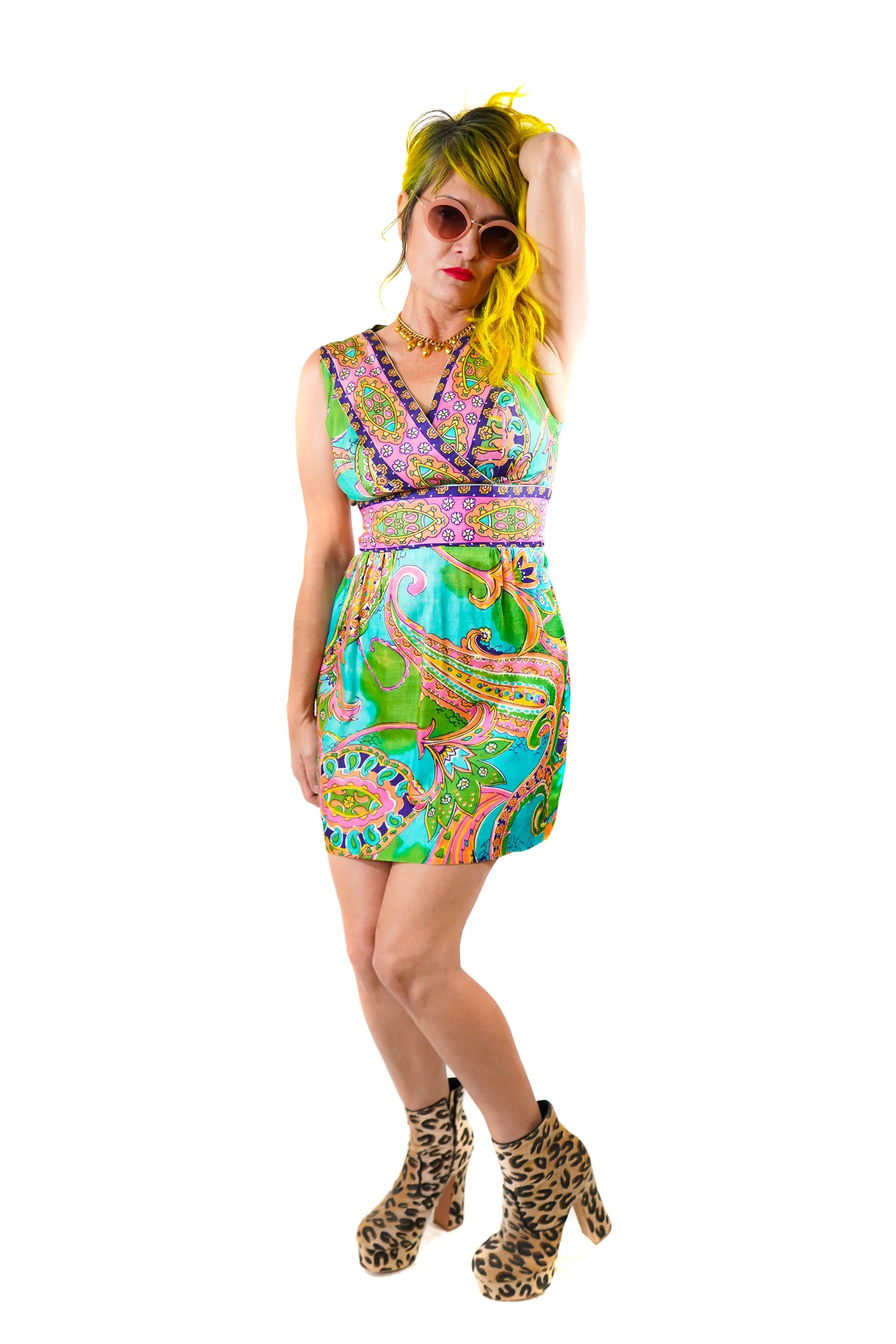 Lucy's Sunshine Dress - Vintage Shop - Hunt and Gather San Diego - Festival Fashion