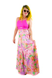 Rosey Garden Party Maxi Skirt - Vintage Shop - Hunt and Gather San Diego - Festival Fashion