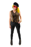 Pounce Leopard Vest - Vintage Shop - Hunt and Gather San Diego - Festival Fashion