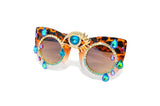 Wild Eye Shades in Blue - Vintage Shop - Hunt and Gather San Diego - Festival Fashion
