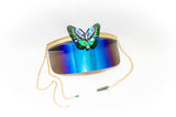 Shimmer Wings Visor Shades - Vintage Shop - Hunt and Gather San Diego - Festival Fashion