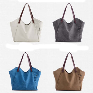 Canvas Tote Shoulder Bag