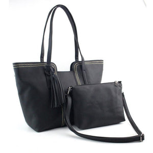 Twin Pack Large Tote + Clutch Bag