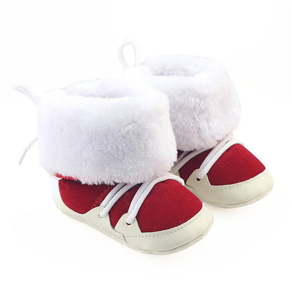 Newborn Unisex Infant Faux Fur Boots
