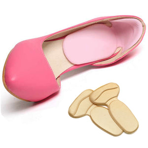 5 Pair Heel Pedicure Gel Inserts For Woman Shoes