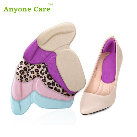 Foot Care Heel Silica Gel Orthopedic Insoles