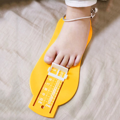 Baby Infant Foot Gauge Shoe Measuring Size Ruler Tool Calculator