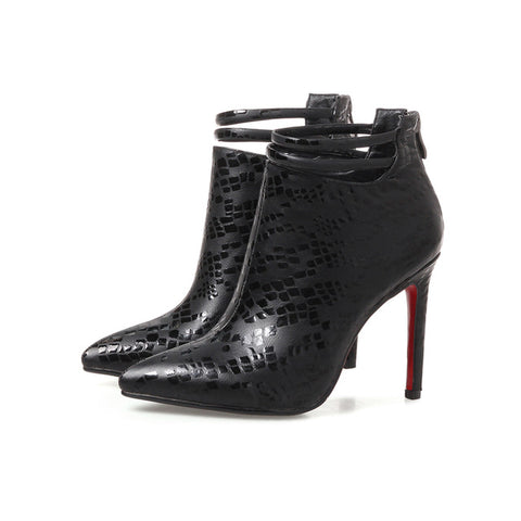 Ankle Heel Winter Boot