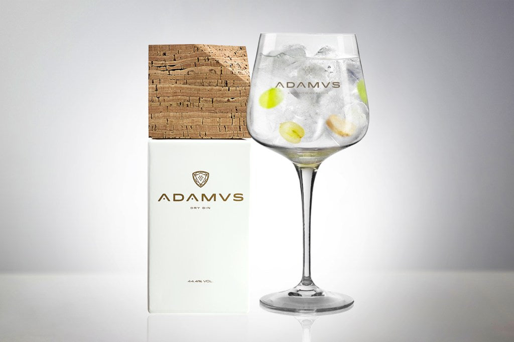 Grape and Ginger Adamus Gin Tonic