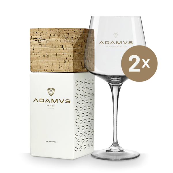 Adamus Gin 70cl - 1 Bottle+2Glasses (10% off)