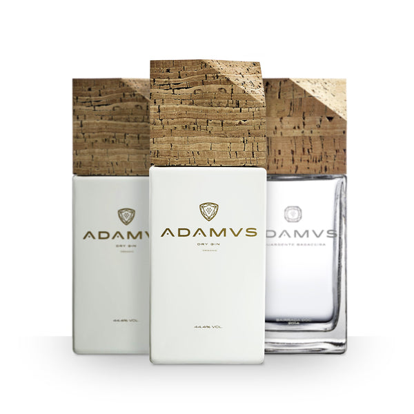 Pack of 2 Adamus Organic Dry Gin + Marc Spirit