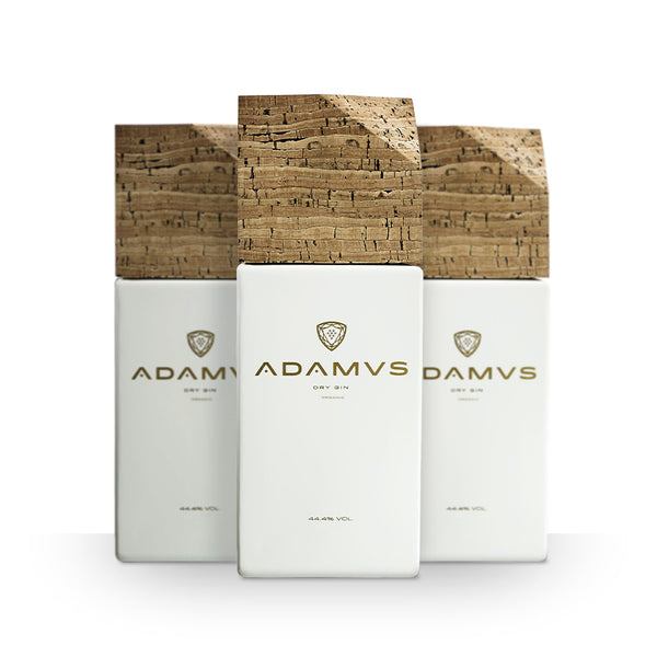 Pack of Adamus Organic Dry Gin