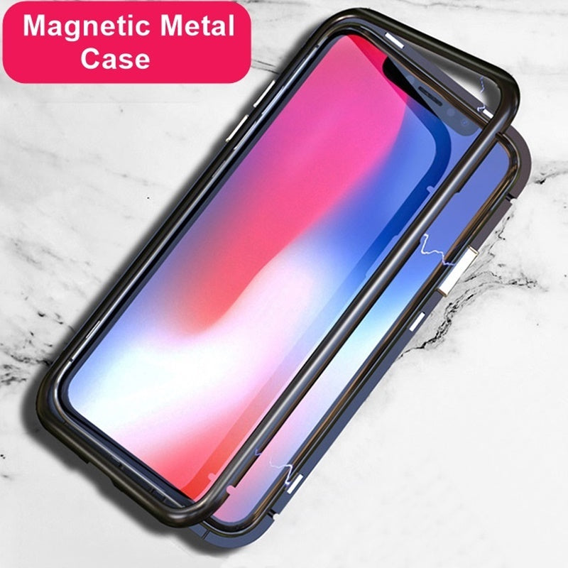 Magnetic Metal Case For iPhone