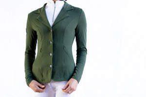 HLH Second Skin Show Jacket in Olive