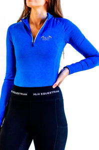 Aquarius Base layer in Marle Cobalt
