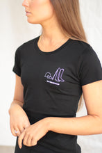 HLH Signature tee in Black