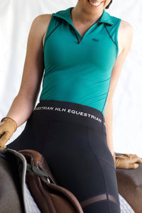 Sleeveless base layer in Pine