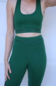 Active equestrian set in Forest Green