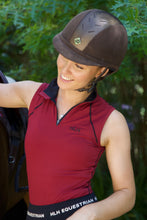 Pinot Noir sleeveless base layer in Wine