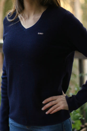LUXE Sweater in Navy
