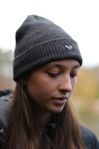 Minimal beanie in Ash Grey