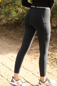 Comfort 1st schooling leggings in Black *PRE ORDER