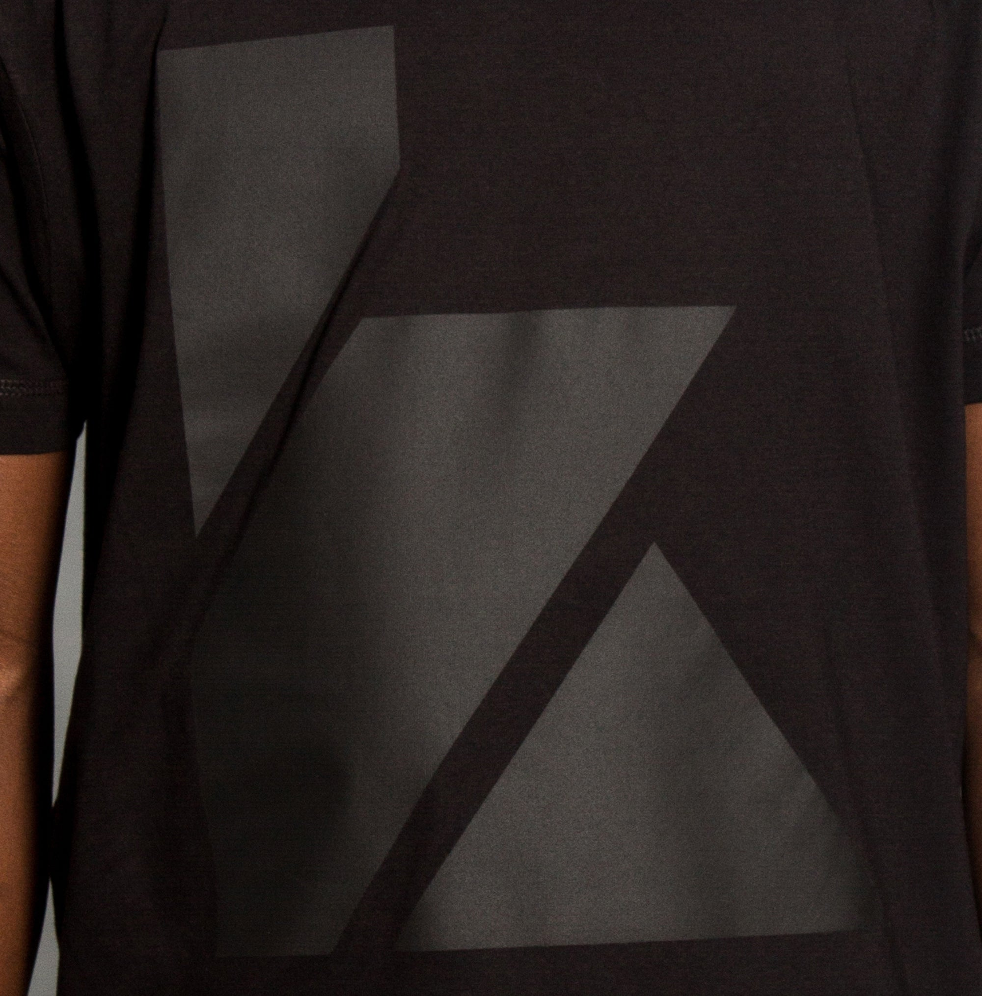 K Black On Black T-shirt