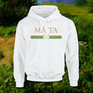 MA-TA HOODIE SWEAT WHITE - GUYS