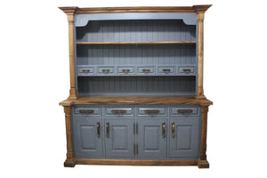 Large Blue Welsh Dresser