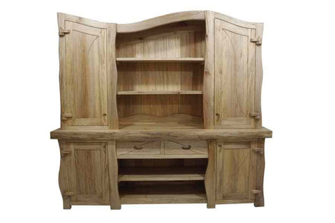 Handmade Wavy Java Dresser solid wood welsh