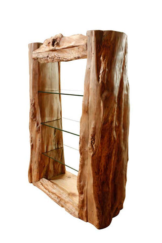 Caveman Display Cabinet solid wood handmade