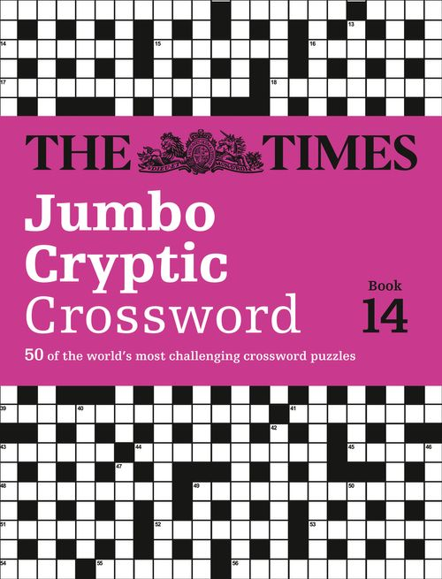 The Times Jumbo Cryptic Crossword Book 14: 50 world-famous crossword puzzles