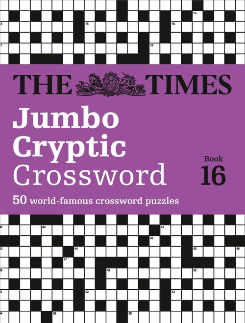 The Times Jumbo Cryptic Crossword Book 16: 50 world-famous crossword puzzles