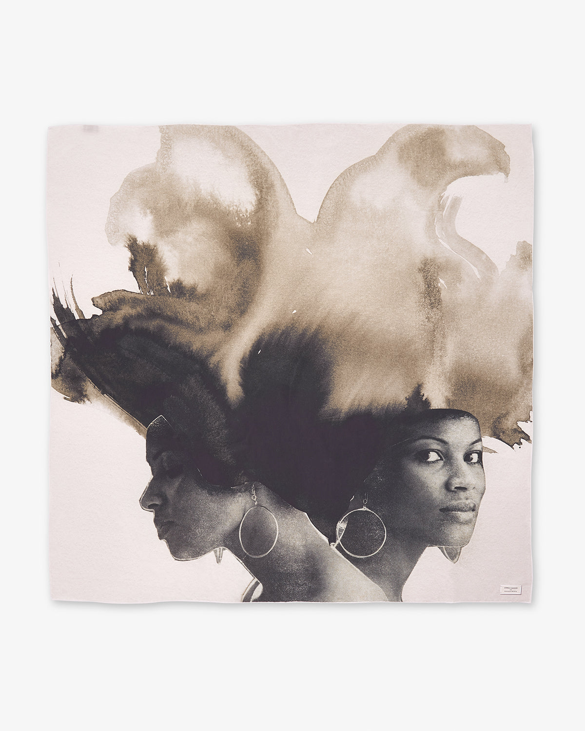 Lorna Simpson Large Silk Square Touching Default Title