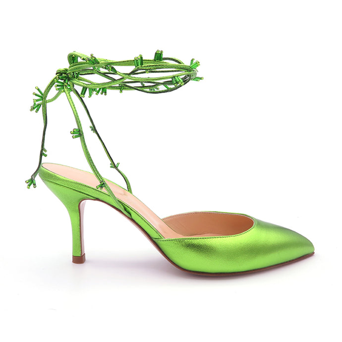 KatrineHanna BabyObeliaLime green shoes green heels stiletto highheels shoes for women shoe stores brand