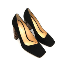 Load image into Gallery viewer, KatirneHanna BADBANKSIAPUMP black shoes for women black heels banksia heels black winter shoes womens shoes brands ecco shoes black closed toe heels