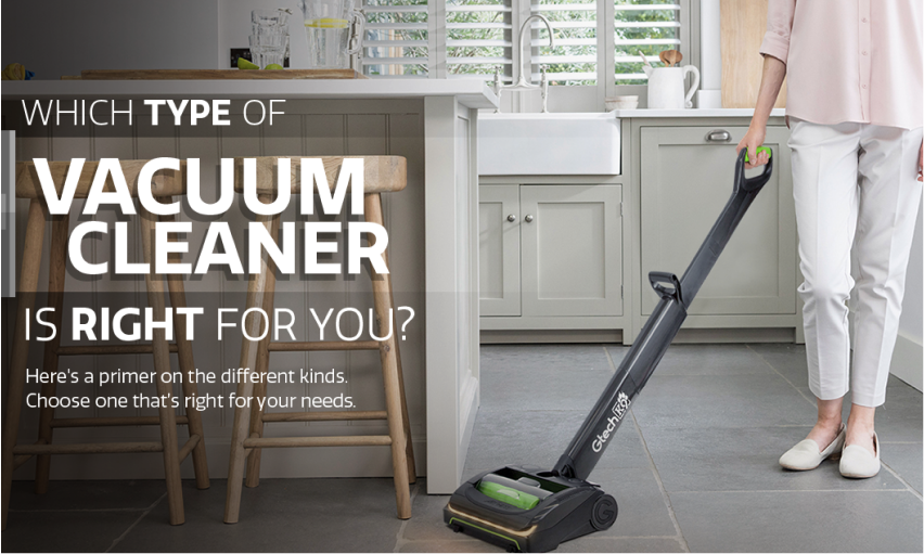 What kind of vacuum cleaner is right for you?