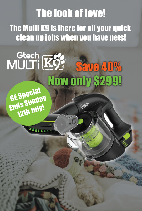 Gtech multi k9 pet vacuum