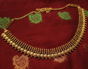 Traditional Gold look-alike Lakshmi Coin hipbelt